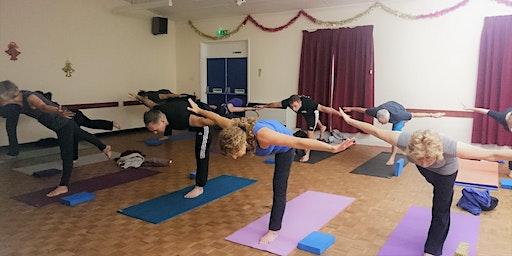 Do Yoga 6pm on Tuesday evenings at Corpus Christi