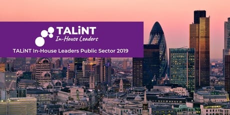 TALiNT In-House Leaders Public Sector 2019 tickets