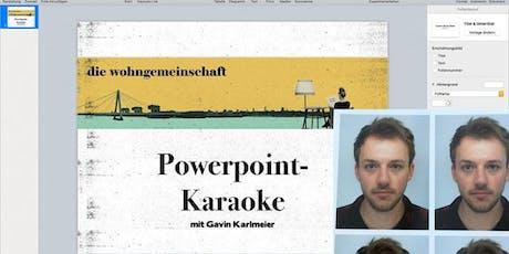 Powerpoint-Karaoke 2. Show Tickets