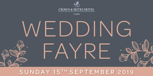 Crown and Mitre Hotel Wedding Fayre
