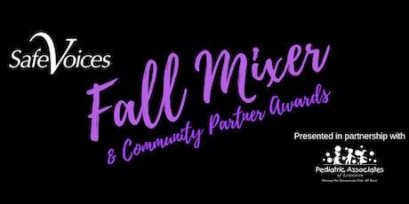 Fall Mixer & Community Partner Awards tickets
