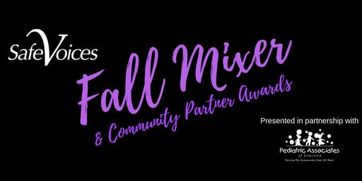 Fall Mixer & Community Partner Awards