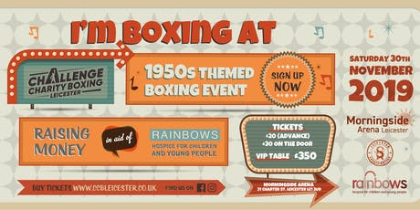 Challenge Charity Boxing Fight Night 5 tickets