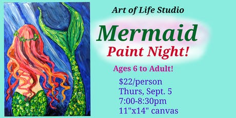 Paint Night: Mermaid tickets