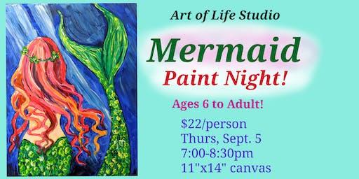 Paint Night: Mermaid