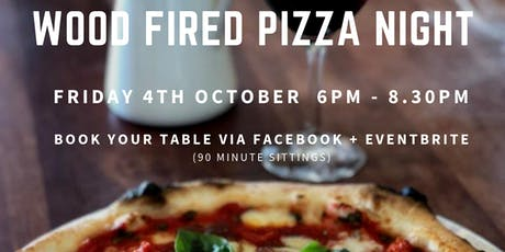 October Wood Fired Pizza Night tickets