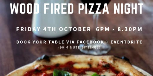 October Wood Fired Pizza Night