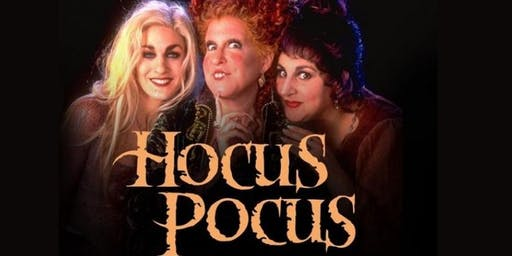 Hocus Pocus on Outdoor Cinema in Warwick