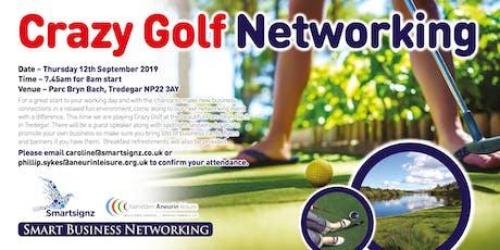 Crazy Golf Breakfast Networking tickets