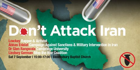Don't Attack Iran tickets