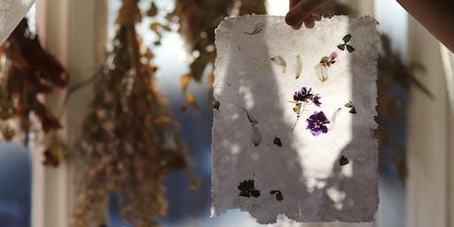 Floral Paper Making Workshop