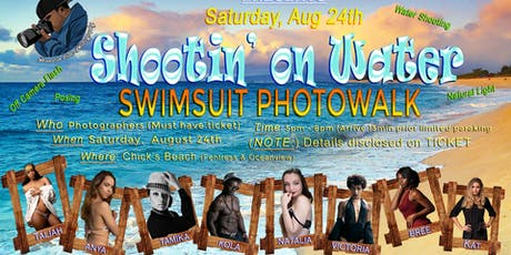 """""""Shooting on the Water"""" BC Photowalk Swimsuit Edition tickets"""