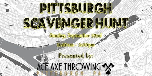 Pittsburgh Scavenger Hunt - 2019