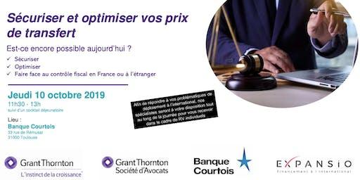 SECURISER ET OPTIMISER VOS PRIX DE TRANSFERT Est-ce encore possible aujourd'hui ?  Sécuriser  Optimiser  Faire face au contrôle fiscal en France ou à l'étranger