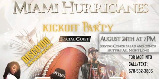 MIAMI HURRICANES KICK-OFF PARTY