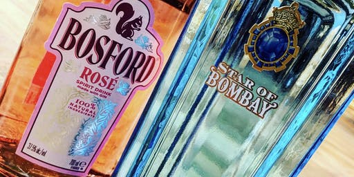 Bosford Rose & Star of Bombay Gin Tasting