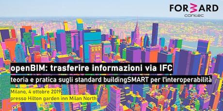openBIM : trasferire informazioni via IFC biglietti