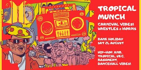 Tropical v Hip-Hop v UKG Carnival Special tickets