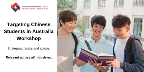 Targeting Chinese Students in Australia Workshop tickets