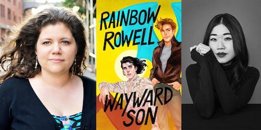 Rainbow Rowell: Wayward Son w/ Mary H.K. Choi at First Unitarian