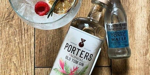 Porter's Gin Tasting