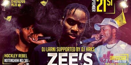 #ZEE-DAY  tickets