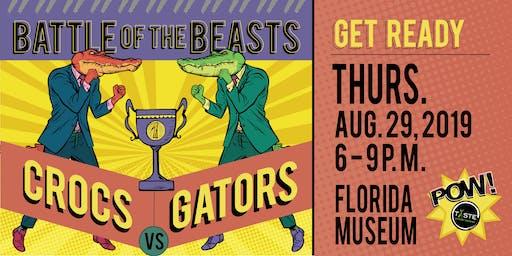 Battle of the Beasts: Crocs vs. Gators