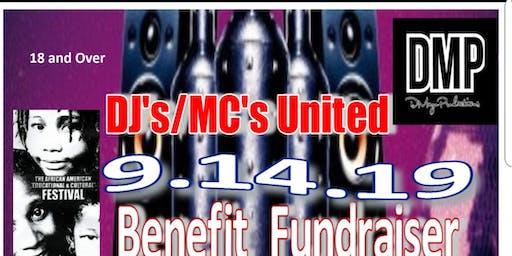 The 1ST ANNUAL AAECF- DJ'S-MC'S UNITY BENEFIT FUNDRAISER & FASHION SHOW