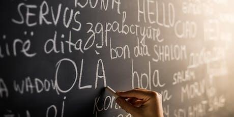 Amlieithrwydd a hunaniaethau lluosog yng Nghymru: dulliau creadigol o edrych ar ymchwil ac arfer / Multilingualism and multi-identities in Wales: a creative approach to research and practice tickets
