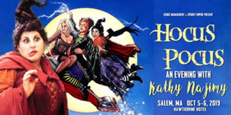 Hocus Pocus at the Hawthorne Hotel, Salem, MA - Featuring Kathy Najimy tickets