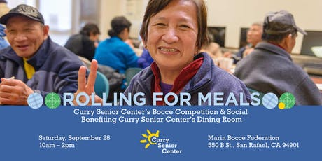 Rolling for Meals: Curry Senior Center's Bocce Competition and Social tickets