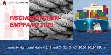 Fischbrötchenempfang von gamecity: Hamburg  Tickets