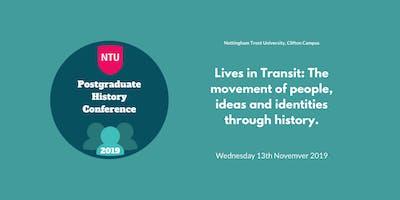 Nottingham Trent University Postgraduate History Conference 2019