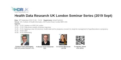 HDR UK London Seminar Series (Sept 2019)  tickets