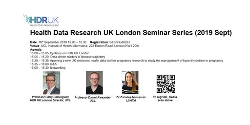 HDR UK London Seminar Series (Sept 2019)