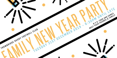 TRFC Family New Year tickets