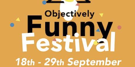 Objectively Funny Festival - Rosie Jones, Jordan Brookes & Moon tickets