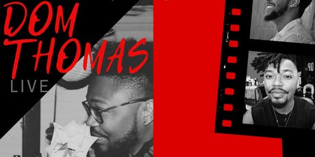 Dom Thomas Live tickets