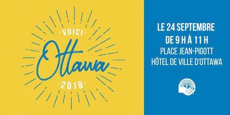 Voici Ottawa 2019 billets