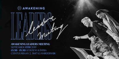 Awakening Leaders meeting