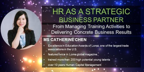 HR as a strategic business partner tickets