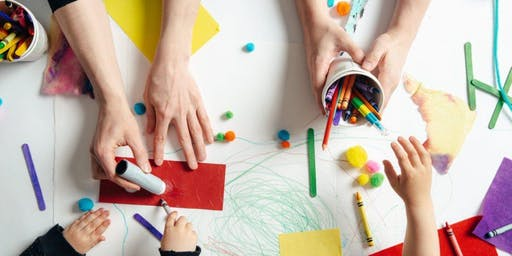 Kids Art & Craft Class - ENCHANTED GARDEN theme