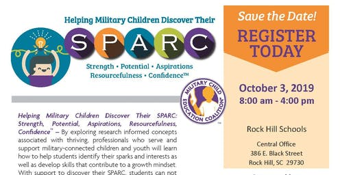 Helping Military Children Discover their SPARC - Rock Hill Schools