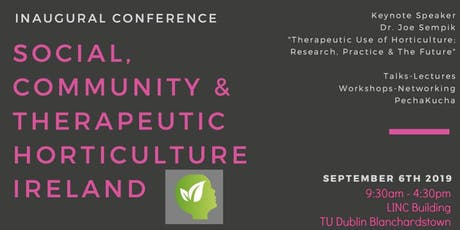 Irish Social, Community and Therapeutic Horticulture Symposium tickets