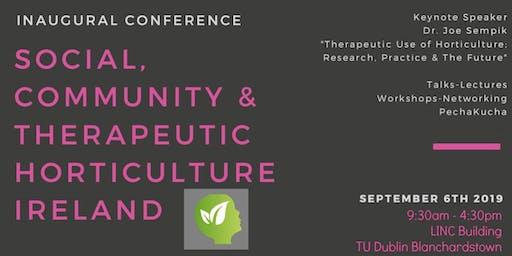 Irish Social, Community and Therapeutic Horticulture Symposium