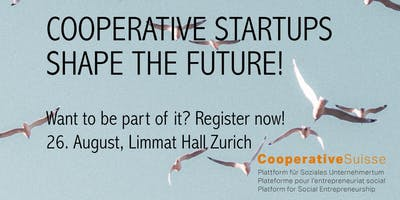 Cooperative Start-ups shape the Future!