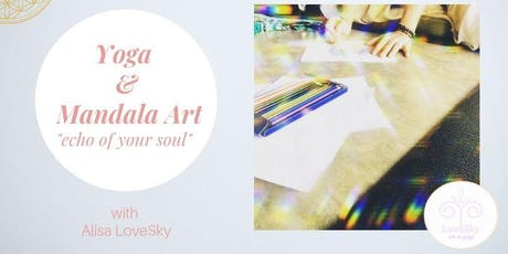 "Mandala Therapy & Yoga Workshop ""Echo of Your Soul"" tickets"