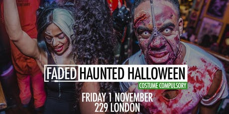 Faded - Haunted Halloween tickets