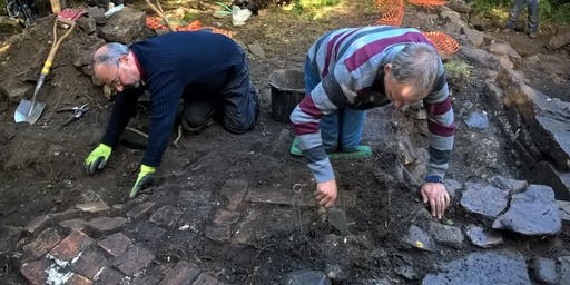 Archaeology dig on site of West Wylam Colliery, Prudhoe