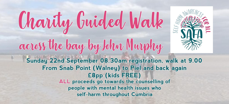 Bay Charity Walk with John Murphy